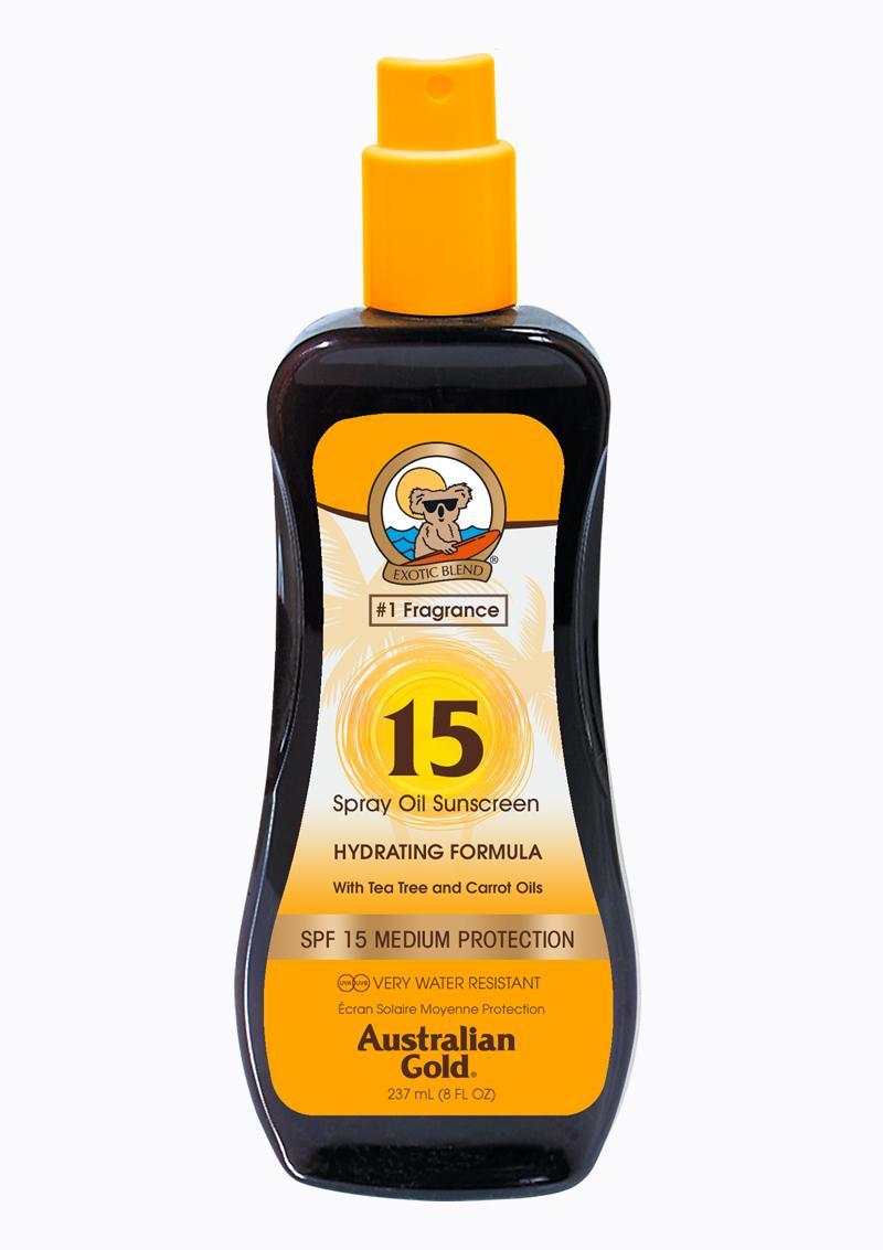 Spray Oil SPF 15
