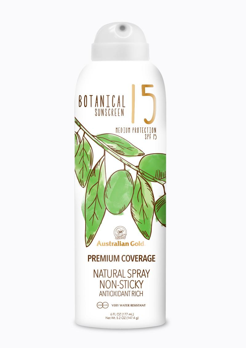 Natural Spray SPF15